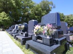 墓地には様々な種類があるんです。